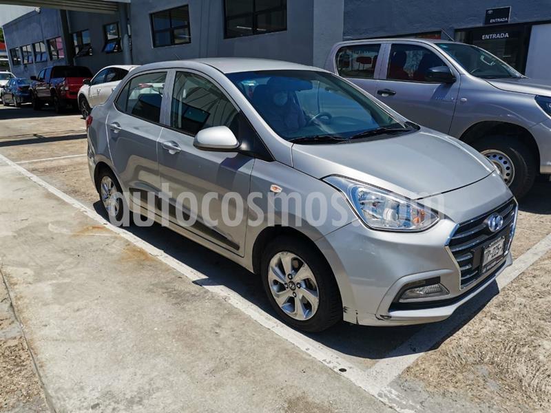 Hyundai Grand i10 GLS usado (2018) color Plata Dorado precio $170,000
