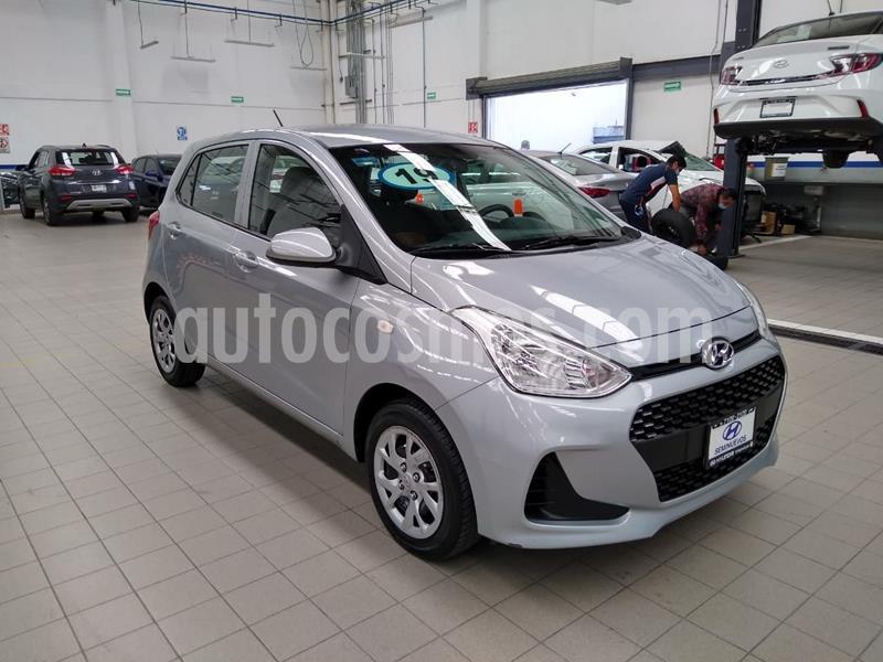 Hyundai Grand i10 GL MID usado (2019) color Plata Dorado precio $169,000