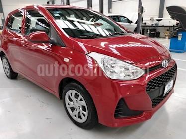 Hyundai Grand i10 5P HB GL MID TM5 A/AC. R-14 usado (2018) color Rojo precio $165,000
