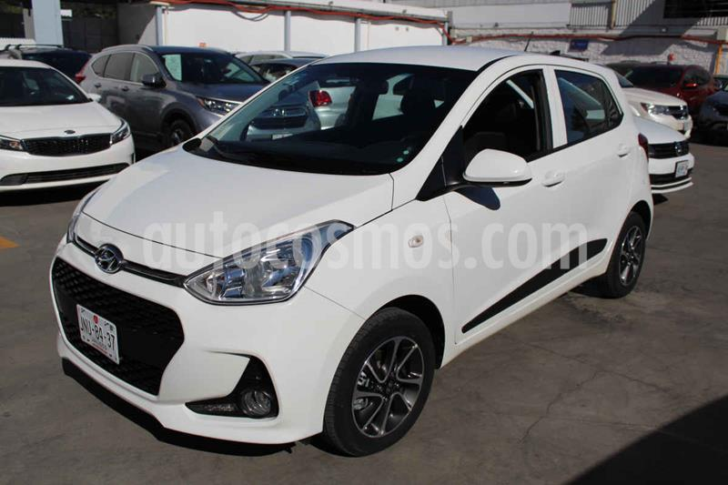 Hyundai Grand i10 Version usado (2018) color Blanco precio $189,000