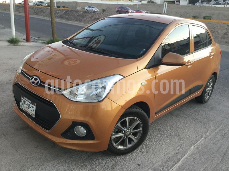 Hyundai Grand i10 GLS usado (2015) color Naranja precio $115,000