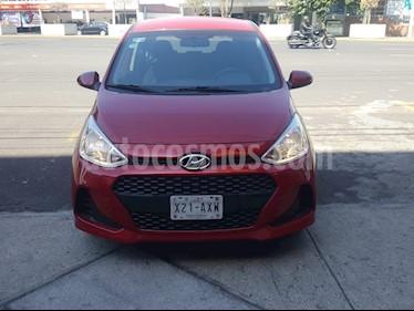 Hyundai Grand i10 GL MID Aut usado (2019) color Rojo precio $178,000