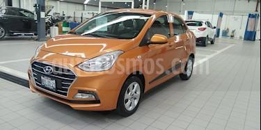 Hyundai Grand i10 GLS usado (2018) color Naranja precio $166,000