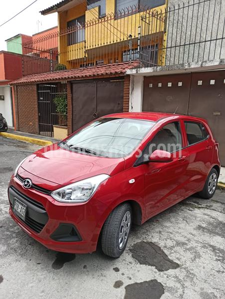 Hyundai Grand i10 GL MID Aut usado (2016) color Rojo precio $130,000