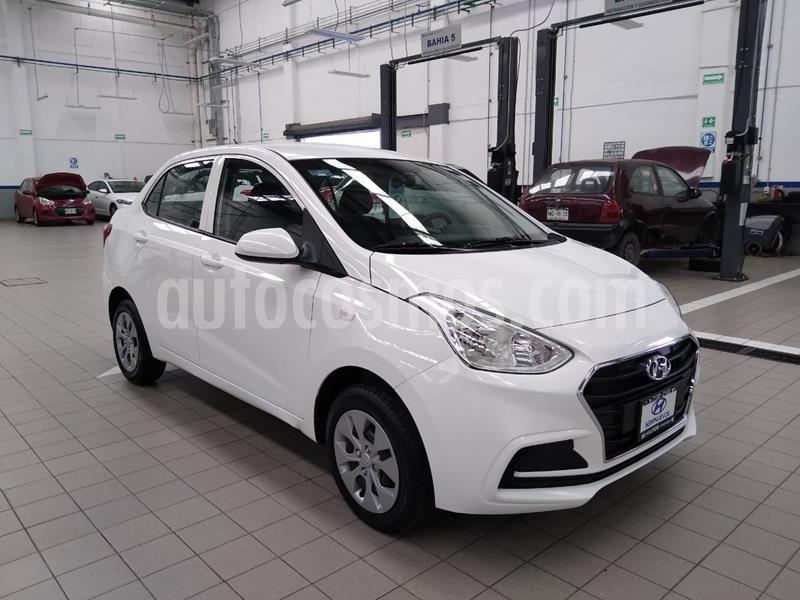 Hyundai Grand i10 GL MID Aut usado (2020) color Blanco precio $205,000