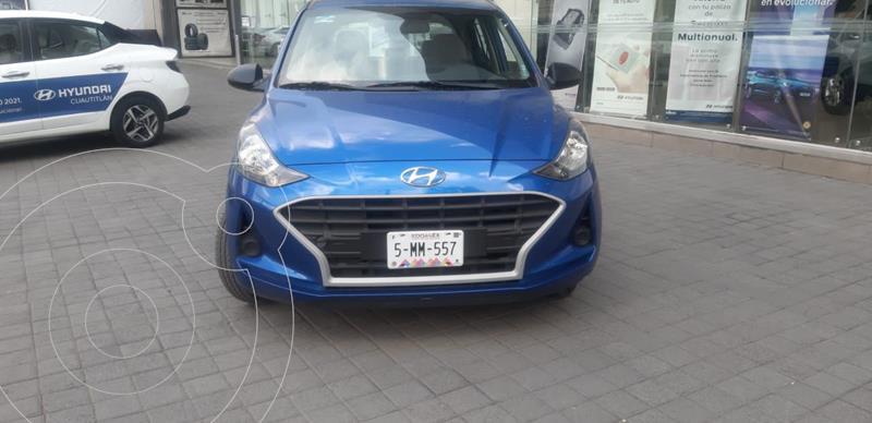 Foto Hyundai Grand i10 GL MID usado (2021) color Azul precio $189,450