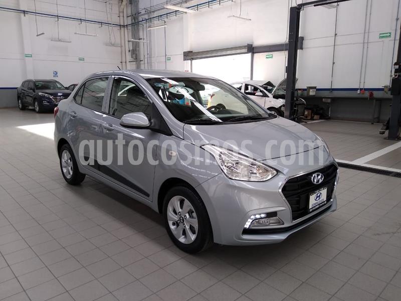 Hyundai Grand i10 GLS Aut usado (2020) color Plata Dorado precio $215,000