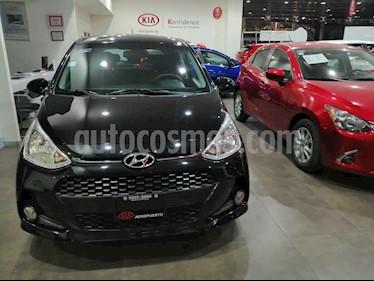 Hyundai Grand i10 4p GLS L4/1.2 Man usado (2018) color Negro precio $149,000