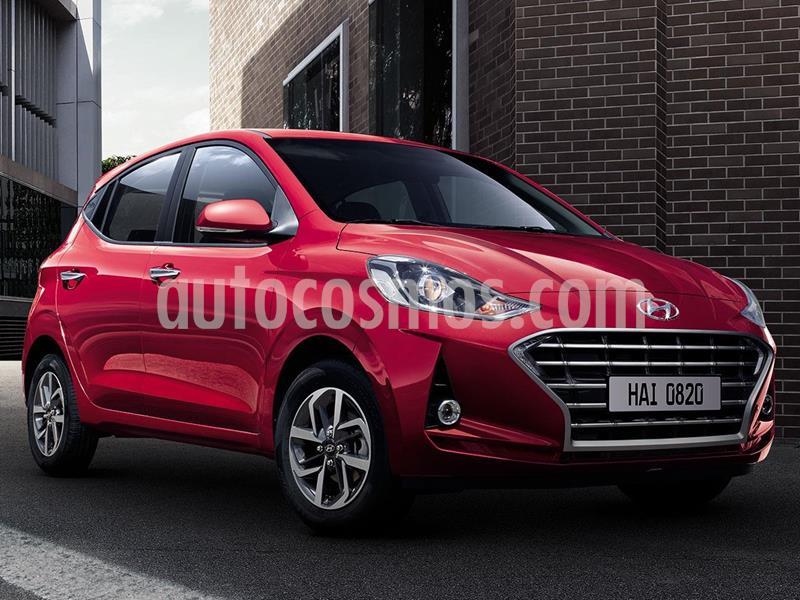 Hyundai Grand i10 GLS Aut nuevo color Rojo precio $259,400