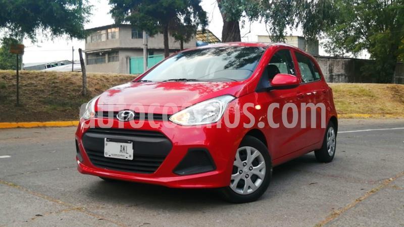 Hyundai Grand i10 GL MID usado (2017) color Rojo precio $139,000