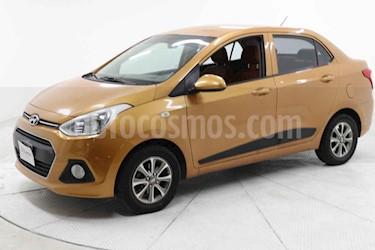 Hyundai Grand i10 4p GLS L4/1.2 Man usado (2015) color Naranja precio $135,000