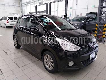 Hyundai Grand i10 GLS Aut usado (2017) color Negro precio $165,000