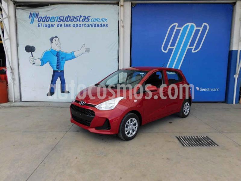 Hyundai Grand i10 GL MID Aut usado (2020) color Vino Tinto precio $159,000