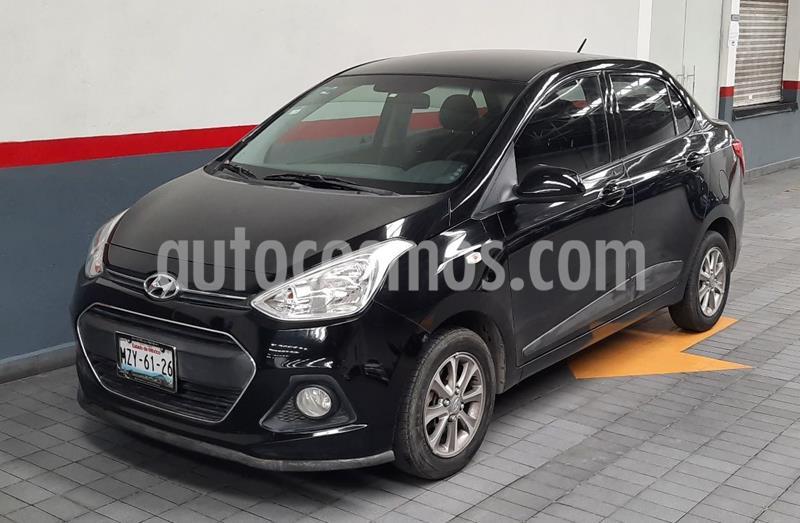Hyundai Grand i10 GLS usado (2017) color Negro precio $154,000