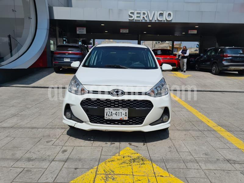 Hyundai Grand i10 GLS Aut usado (2019) color Blanco precio $180,000