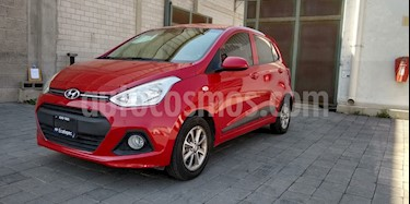 Hyundai Grand i10 GLS Aut usado (2017) color Rojo precio $165,000