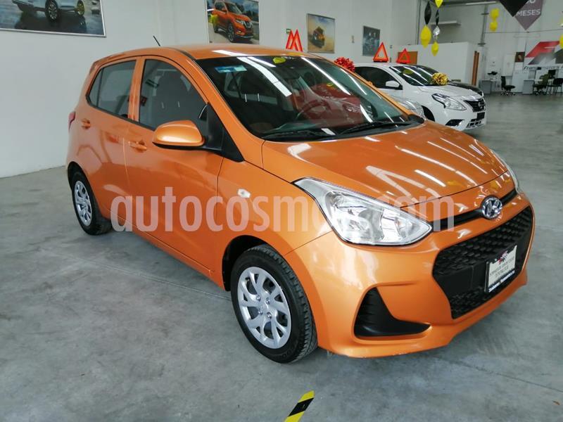 Hyundai Grand i10 GL MID usado (2018) color Naranja precio $165,000