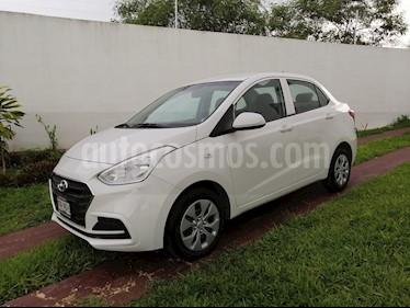 Hyundai Grand i10 GL MID usado (2019) color Blanco precio $165,000