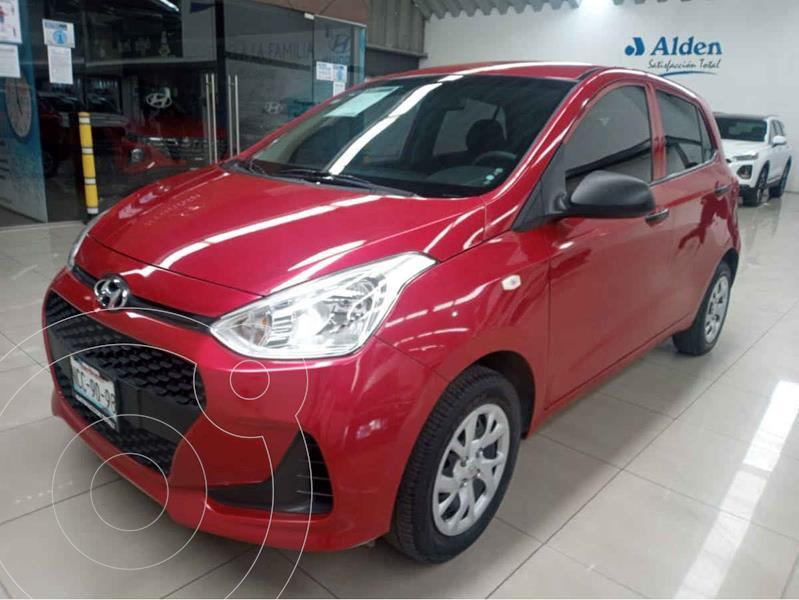 Foto Hyundai Grand i10 GL usado (2018) color Rojo precio $147,000