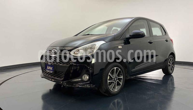 Hyundai Grand i10 Version usado (2018) color Negro precio $172,999