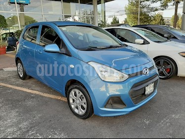 Hyundai Grand i10 GL MID usado (2016) color Azul Claro precio $130,000