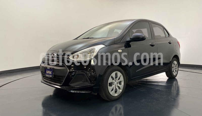 Hyundai Grand i10 GL MID Aut usado (2016) color Negro precio $147,999
