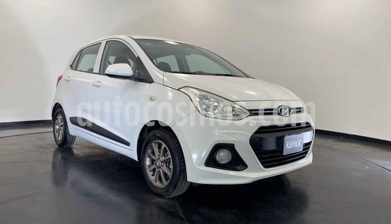 Hyundai Grand i10 Version usado (2015) color Blanco precio $134,999