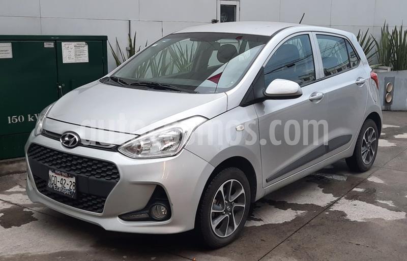 Hyundai Grand i10 GLS usado (2018) color Plata precio $169,000