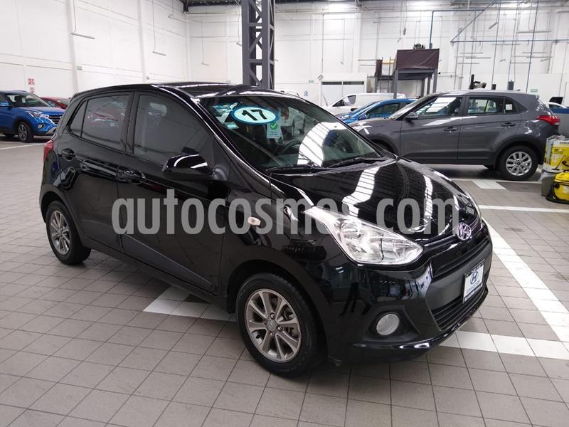 Hyundai Grand i10 GLS usado (2017) color Negro precio $165,000