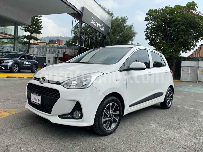 Hyundai Grand i10 GLS Aut usado (2019) color Blanco precio $197,000