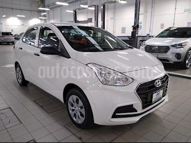 Hyundai Grand i10 GL MID Aut usado (2018) color Blanco precio $145,000