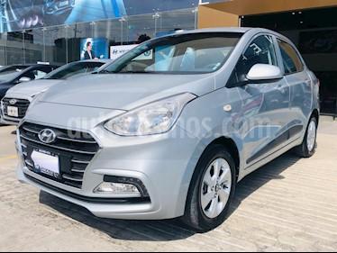 Hyundai Grand i10 GLS Aut usado (2020) color Plata precio $226,500