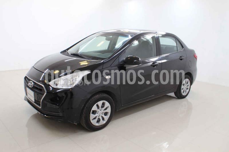 Hyundai Grand i10 GL MID Aut usado (2018) color Negro precio $165,000