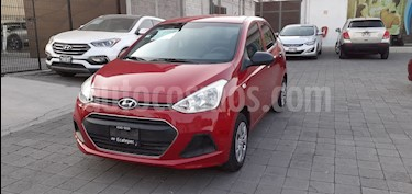 Hyundai Grand i10 GL usado (2016) color Rojo precio $125,000