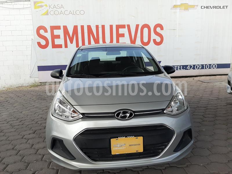 Hyundai Grand i10 GL MID usado (2016) color Plata Dorado precio $135,000