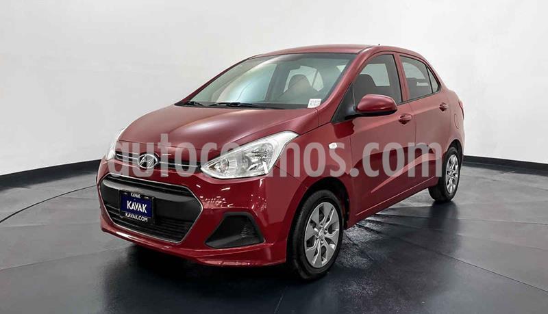 Hyundai Grand i10 GL MID Aut usado (2017) color Rojo precio $152,999