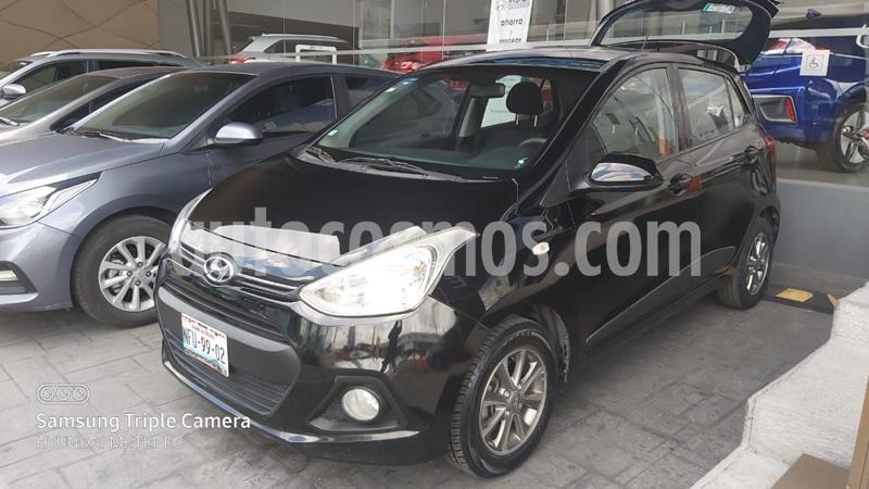 Hyundai Grand i10 GLS usado (2015) color Negro precio $128,000