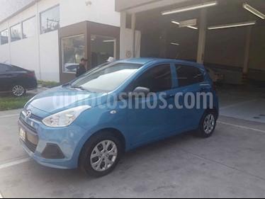 Hyundai Grand i10 GL usado (2016) color Azul precio $119,900