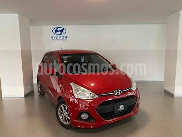 Hyundai Grand i10 GLS usado (2017) color Rojo precio $155,000