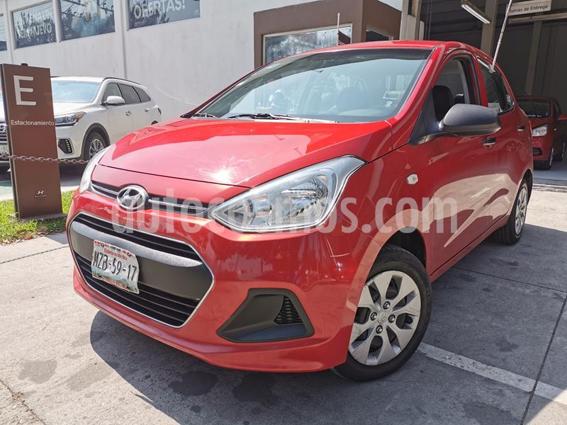 Hyundai Grand i10 GLS usado (2017) color Rojo precio $125,000