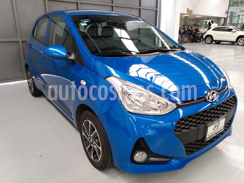 Hyundai Grand i10 GLS usado (2019) color Azul precio $184,900