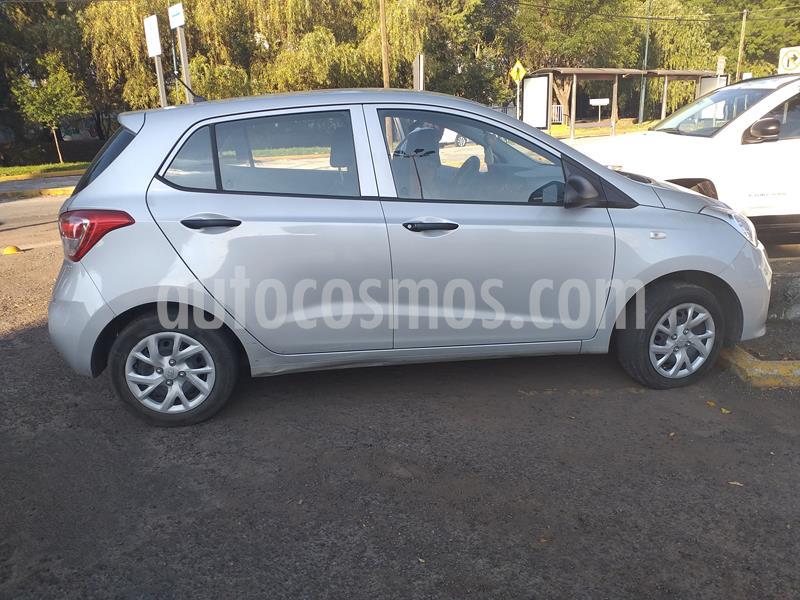 Hyundai Grand i10 GL usado (2018) color Plata precio $128,000