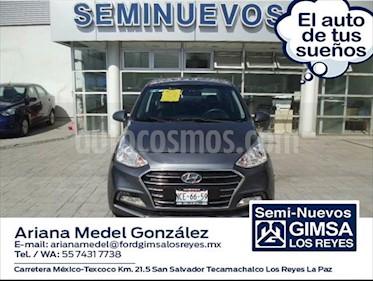 Hyundai Grand i10 GLS Aut usado (2018) color Gris Oscuro precio $180,000