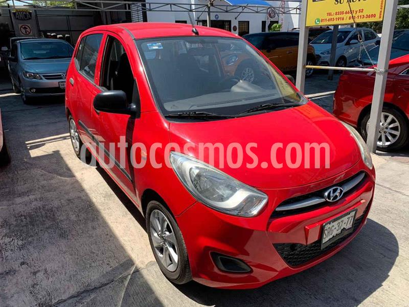 Hyundai Grand i10 GL MID usado (2013) color Rojo precio $99,900