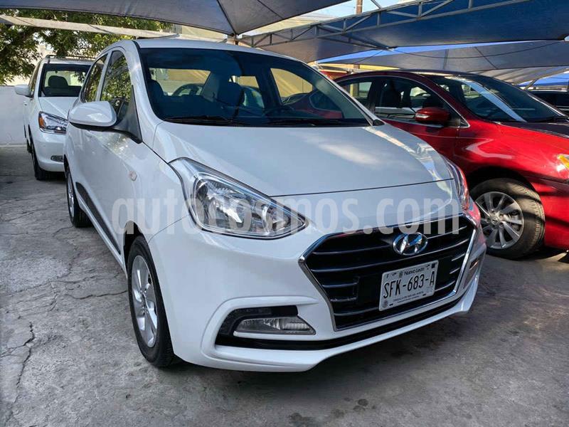 Hyundai Grand i10 GL MID Aut usado (2020) color Blanco precio $239,900