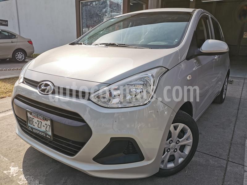 Foto Hyundai Grand i10 GL MID usado (2017) color Plata precio $134,000