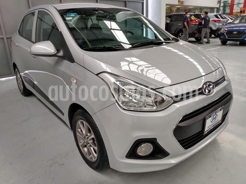 Hyundai Grand i10 GLS usado (2016) color Plata Dorado precio $142,900