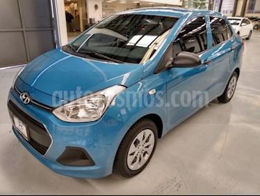 Hyundai Grand i10 4P GL TM5 R-14 usado (2015) color Azul precio $130,000