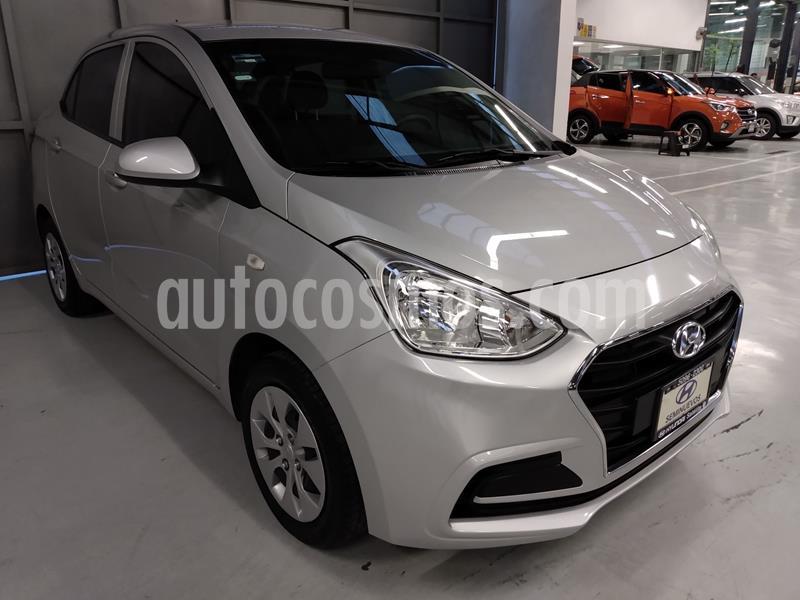 Hyundai Grand i10 GL MID Aut usado (2018) color Plata Dorado precio $178,900