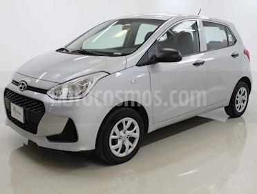 Hyundai Grand i10 GL usado (2018) color Plata precio $140,000